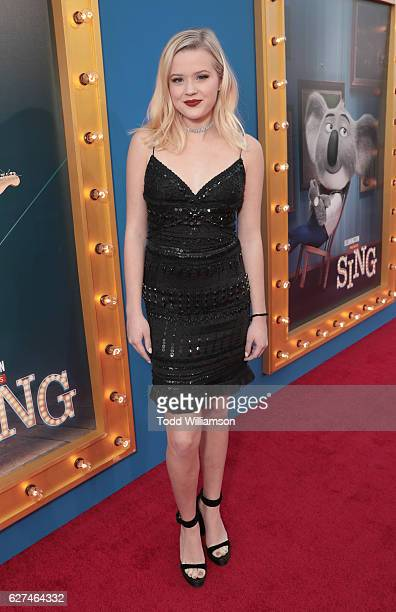 Ava Phillippe attends the premiere Of Universal Pictures' 'Sing' on December 3 2016 in Los Angeles California