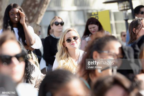 Ava Phillippe attends The Teen Vogue Summit LA Keynote Conversation with A Wrinkle In Time director Ava Duvernay and actresses Rowan Blanchard and...