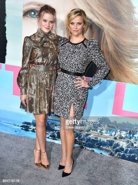Ava Phillippe Reese Witherspoon arrives at the Premiere Of HBO's 'Big Little Lies' at TCL Chinese Theatre on February 7 2017 in Hollywood California