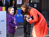 The Duchess Of Cambridge Visits Great Ormond Street...