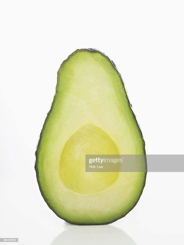 avacado half : Stock Photo