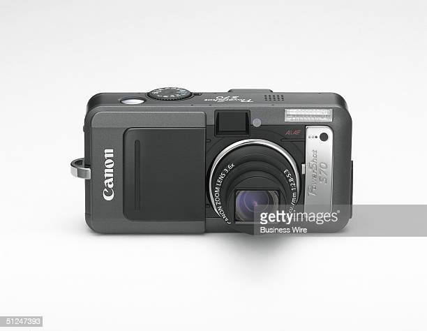 Available in September for an estimated street price of $599 Canon's new 71 MP PowerShot S70 camera offers users a high performance 28100mm UA...