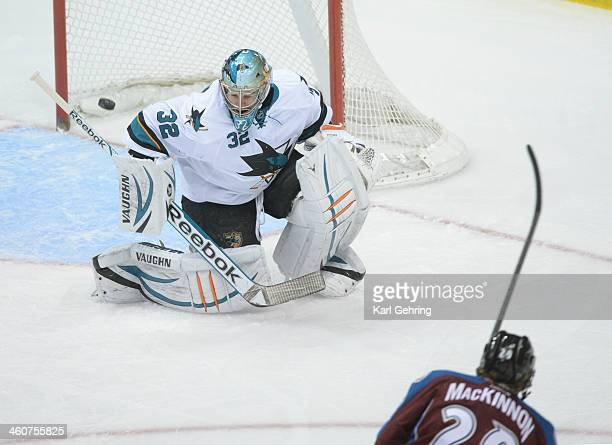 Avalanche center Nathan MacKinnon rifled a shot past Sharks goalie Alex Stalock in the second period The Colorado Avalanche hosted the San Jose...