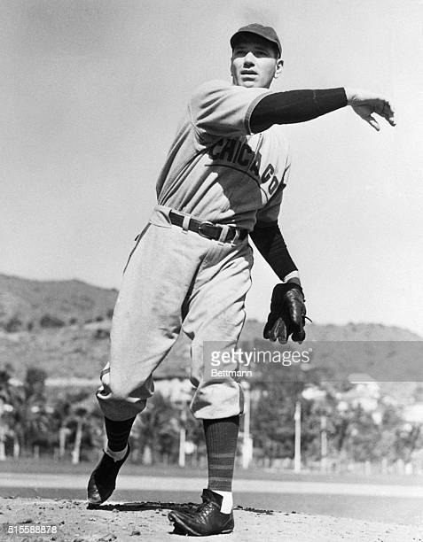 Jerome 'Dizzy' Dean in spring training with the Cubs Undated photograph