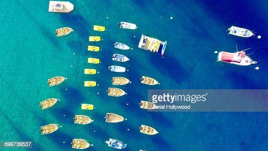 Avalona Bay Boats : Stock Photo