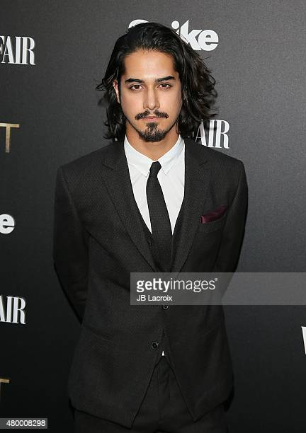 Avan Jogia attends Vanity Fair and Spike TV celebrate the premiere of the new series 'TUT' held at Chateau Marmont on July 8 2015 in Los Angeles...