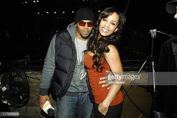 Avant and Melyssa Ford during BET Presents Rip The Runway 2006 at Roseland Ballroom in New York New York United States