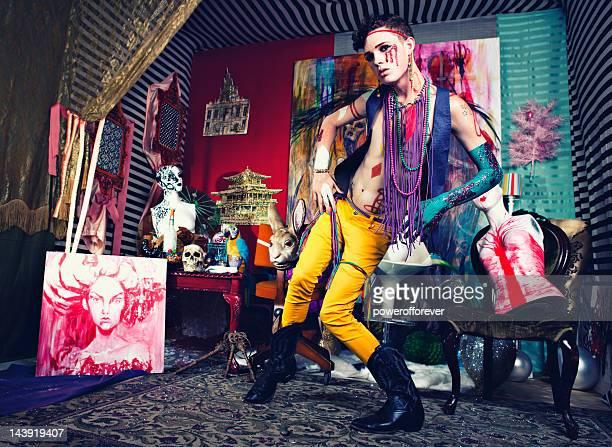 Avant-Garde-Glam Punk-Mode