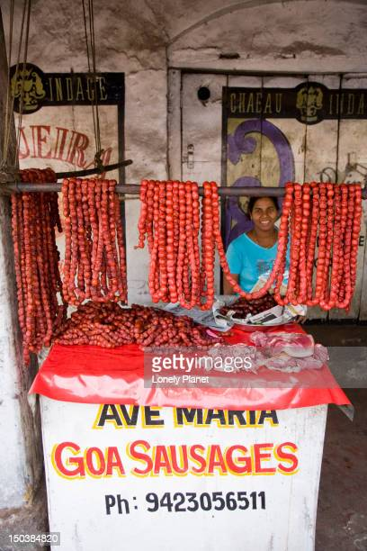 Ave Maria sausage stand.