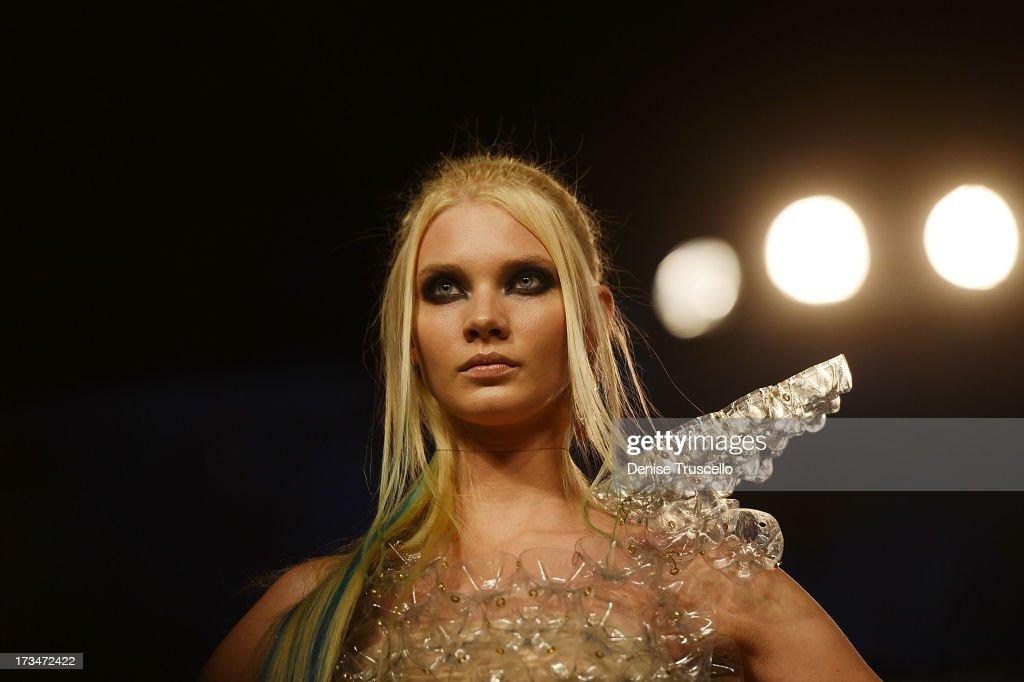 Aveda presentation at the 2013 North American Hairstyling Awards at Mandalay Bay on July 14, 2013 in Las Vegas, Nevada.