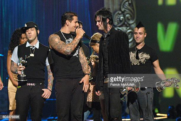 Avenged Sevenfold attends 2006 MTV Video Music Awards at Radio City Music Hall on August 31 2006 in New York City