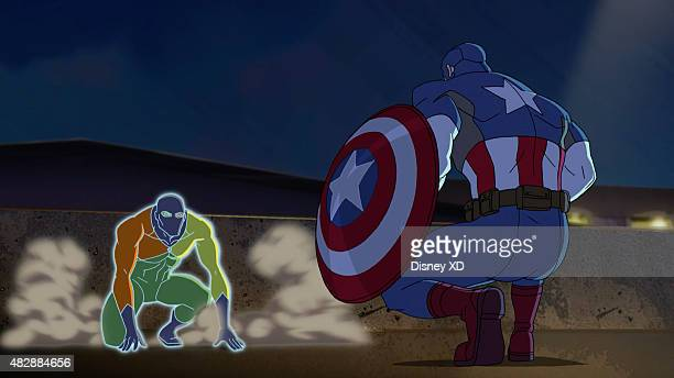 S AVENGER'S ASSEMBLE 'Avengers Underground' Unbeknownst to the Squadron and the rest of the world the Avengers are in hiding and working on a plan to...