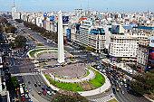 Avenida 9 de Julio, widest avenue in the world