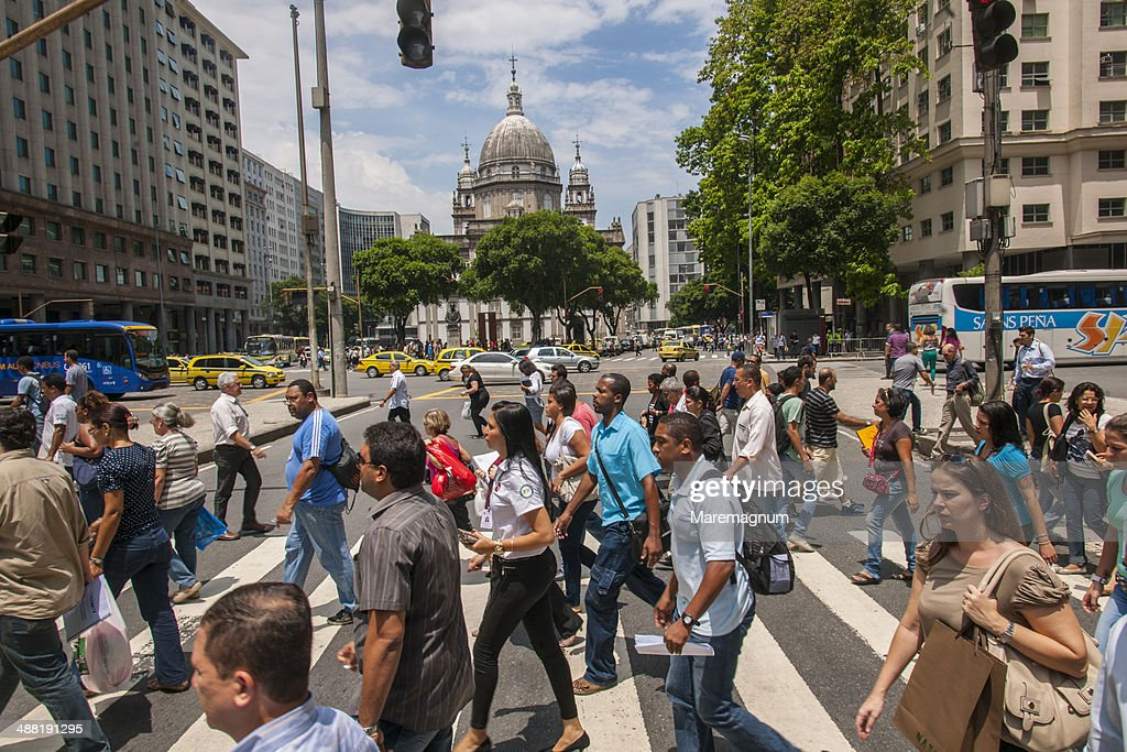 Avenida Presidente Vargas : Stock-Foto