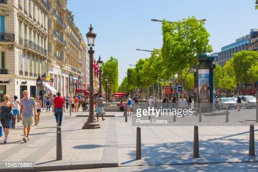 Avenue Champs-Elysees, Paris