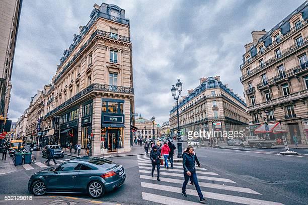 """Avenue de l """" Opéra, à Paris"""