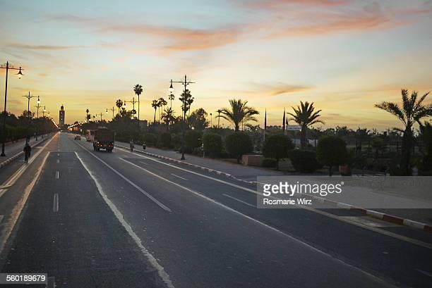 Avenue Mohammed V, Marrakesh