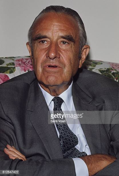 W Averell Harriman posing for a portrait on September 9 1969 in New York New York