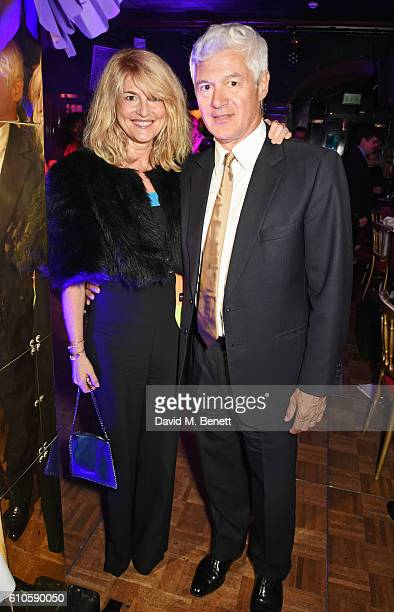 Avery Agnelli and John Frieda attend 'Goldie's LoveIn For The Kids' the 5th annual fundraising dinner hosted by Goldie Hawn in aid of The Hawn...