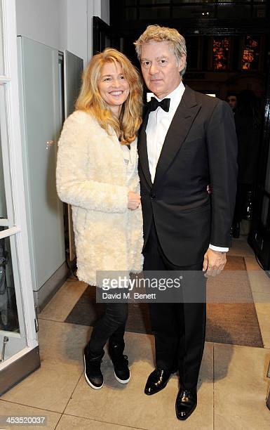 Avery Agnelli and John Frieda attend the Stella McCartney Christmas Lights Switch On at the Stella McCartney Bruton Street Store on December 4 2013...