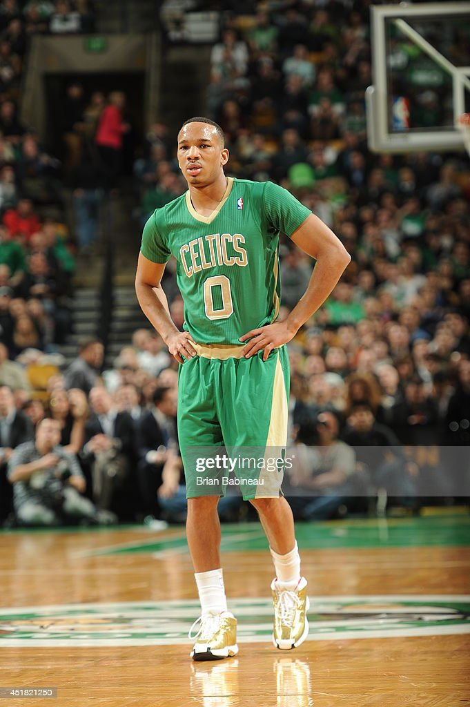 <a gi-track='captionPersonalityLinkClicked' href=/galleries/search?phrase=Avery+Bradley&family=editorial&specificpeople=5792051 ng-click='$event.stopPropagation()'>Avery Bradley</a> #0 of the Boston Celtics during the game against the Phoenix Suns on March 14, 2014 at the TD Garden in Boston, Massachusetts.