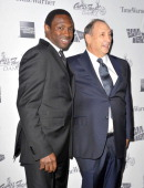Avery Johnson and Bruce Ratner attend the BAM 30th Next Wave Gala at the Brooklyn Academy of Music on September 27 2012 in the Brooklyn borough of...