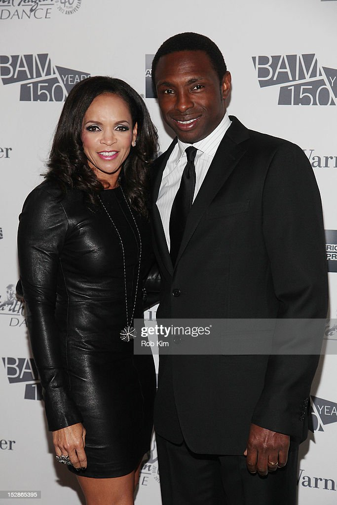 Avery Johnson and wife Cassandra Johnson attend the BAM 30th Next Wave gala at Lepercq Space at BAM in Brooklyn on September 27 2012 in New York City