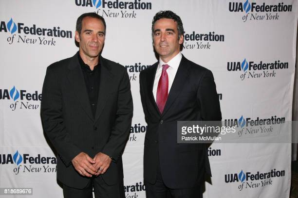 Avery Lipman and Monte Lipman attend UJAFEDERATION OF NEW YORK honors JULIE GREENWALD and CRAIG KALLMAN with The Music Visionary of the Year Award at...