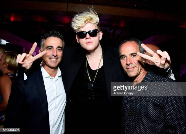 Avery Lipman BloodPop and Monte Lipman attend the VMA after party hosted by Republic Records and Cadillac at TAO restaurant at the Dream Hotel on...