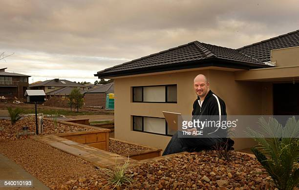 Avi Miller has super fast broadband at his new Bundoora home in the University Hill estate 29 April 2010 THE AGE Picture by PENNY STEPHENS