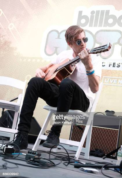 Avi Snow of City of the Sun performs during Day Two of 2017 Billboard Hot 100 Festival at Northwell Health at Jones Beach Theater on August 20 2017...