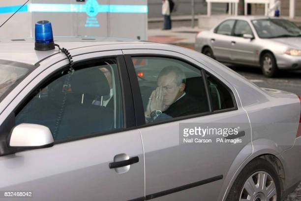 Aviation broker John Kinsella arrives at Dublin District Court where he will be charged in connection with last week's seizure of 10 million euro of...