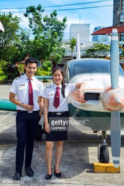 Aviation University students in Thailand