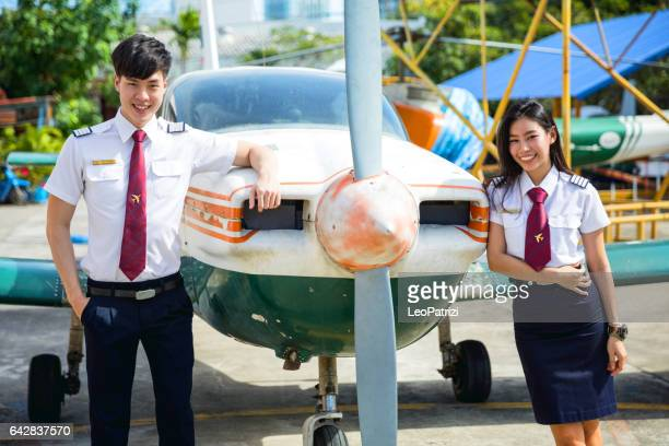 Aviation University students in Thailand