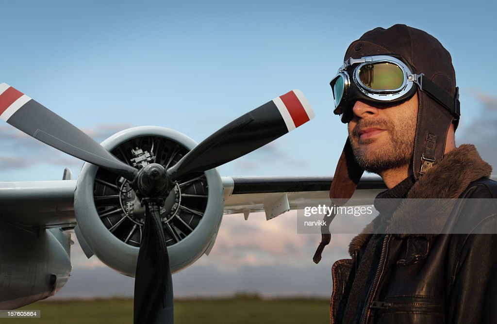 Aviator and His Airplane