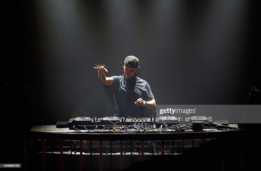 DJ Avicii performs onstage during Rolling Stone Live SF with Talent Resources on February 7, 2016 in San Francisco, California.