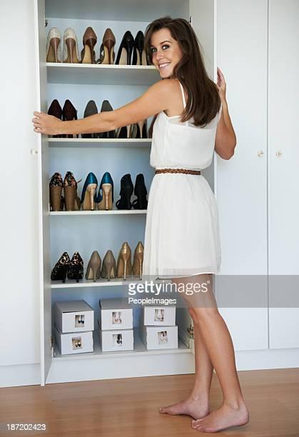 Avid scarpa collezionista