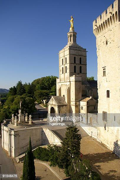 Avignon church et palace