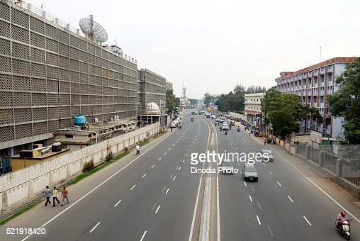 Avinashi road, national highway 47, Coimbatore, Tamil Nadu, India