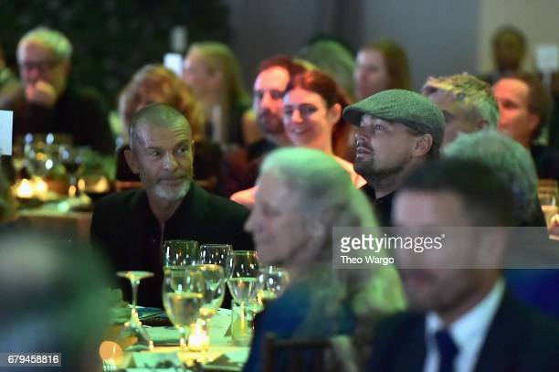 Aviv Nevo and actor Leonardo DiCaprio attend Sean Penn Friends HAITI TAKES ROOT A Benefit Dinner Auction to Reforest Rebuild Haiti to Support J/P...