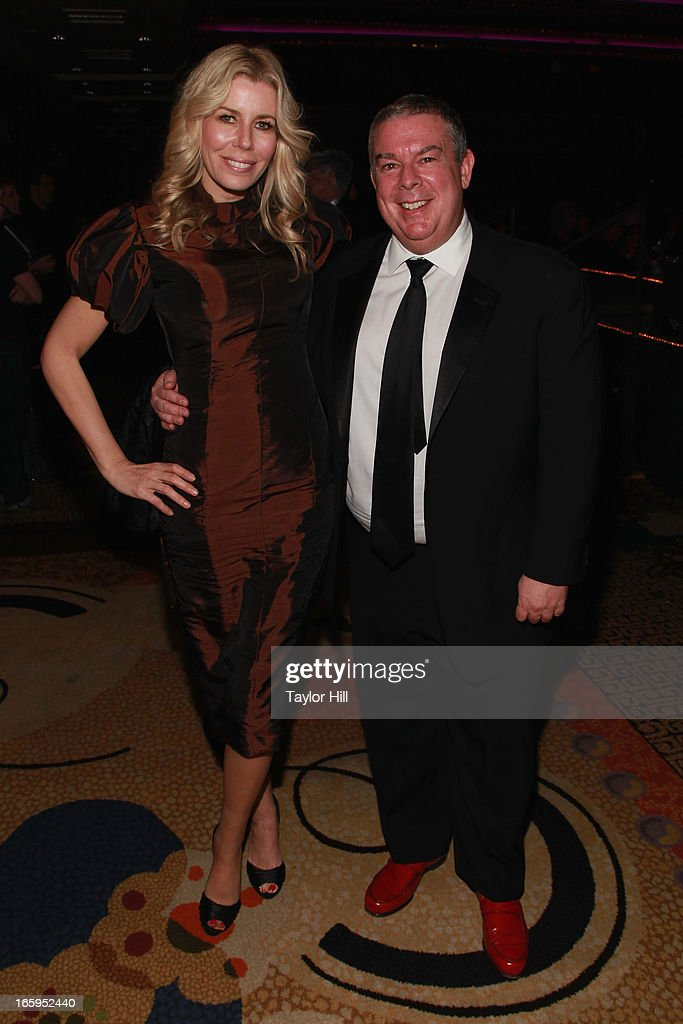 Aviva Drescher and <a gi-track='captionPersonalityLinkClicked' href=/galleries/search?phrase=Elvis+Duran&family=editorial&specificpeople=3048281 ng-click='$event.stopPropagation()'>Elvis Duran</a> attend the 27th Annual Night Of A Thousand Gowns at the Hilton New York on April 6, 2013 in New York City.