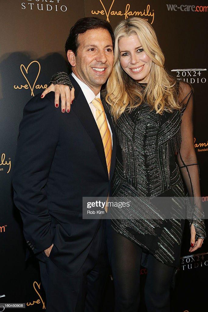 Aviva Drescher (R) attends 2013 We Are Family Foundation Gala at Hammerstein Ballroom on January 31, 2013 in New York City.