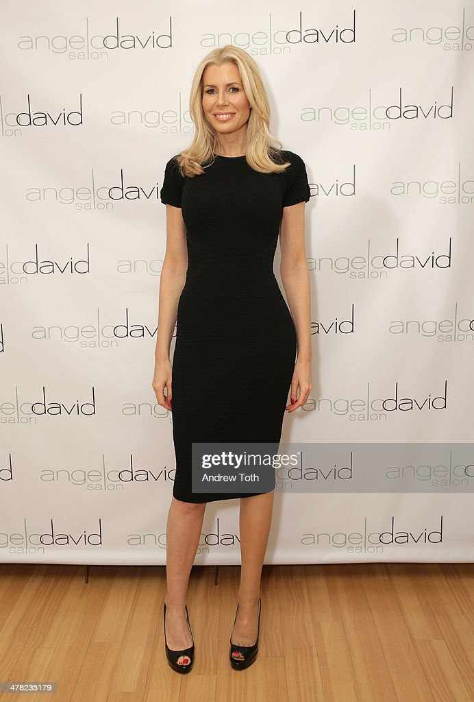 <a gi-track='captionPersonalityLinkClicked' href=/galleries/search?phrase=Aviva+Drescher&family=editorial&specificpeople=8624423 ng-click='$event.stopPropagation()'>Aviva Drescher</a> attends <a gi-track='captionPersonalityLinkClicked' href=/galleries/search?phrase=Aviva+Drescher&family=editorial&specificpeople=8624423 ng-click='$event.stopPropagation()'>Aviva Drescher</a>'s 'Leggy Blonde' book launch celebration at Angelo David Salon on March 12, 2014 in New York City.