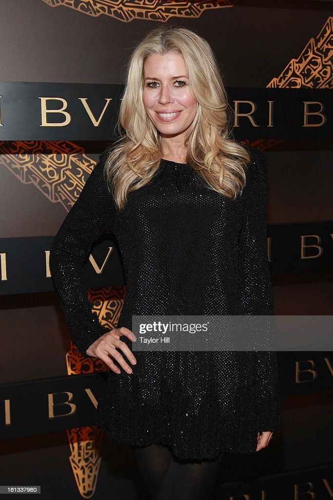 Aviva Drescher attends Bulgari Celebrates Icons Of Style: The Serpenti during Fall 2013 Fashion Week at Bulgari Fifth Avenue on February 9, 2013 in New York City.