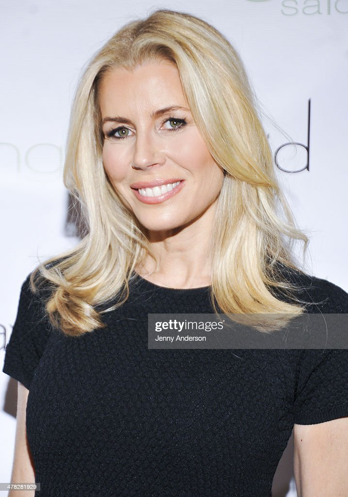 Aviva Drescher attends 'Leggy Blonde' book launch celebration at Angelo David Salon on March 12, 2014 in New York City.