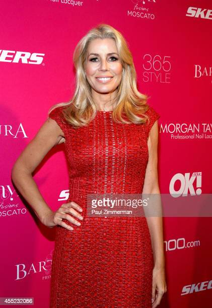 Aviva Drescher attends OK Magazine's 8th Annual New York Fashion Week Celebration at VIP Room NYC on September 10 2014 in New York City