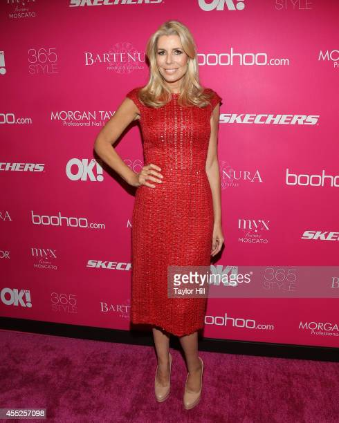 Aviva Drescher attends OK Magazine's 8th Annual NY Fashion Week Celebration at VIP Room NYC on September 10 2014 in New York City