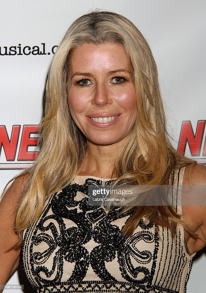Aviva Drescher attends opening night of Andrea McArdle in 'NEWSical The Musical'at The Kirk Theater at Theatre Row on November 19 2012 in New York...