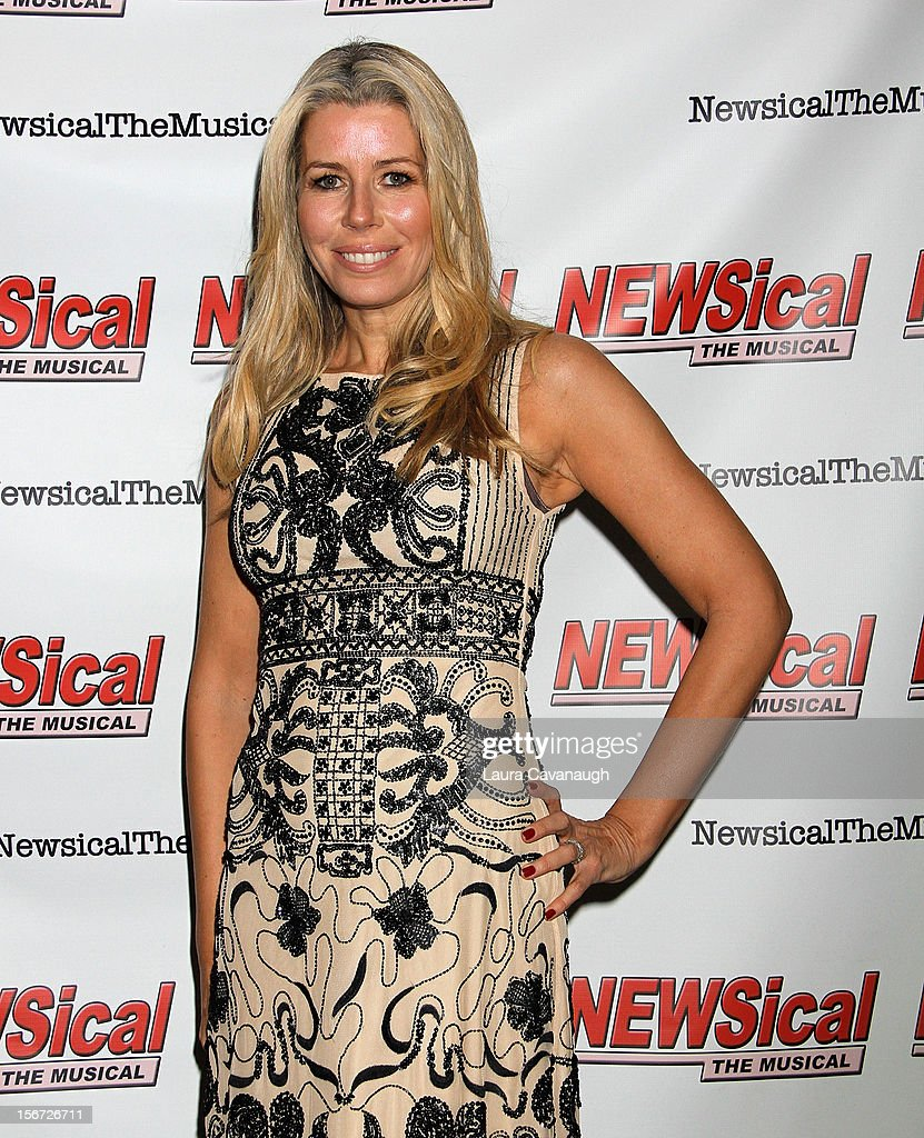 Aviva Drescher attends opening night of Andrea McArdle in 'NEWSical The Musical'at The Kirk Theater at Theatre Row on November 19, 2012 in New York City.
