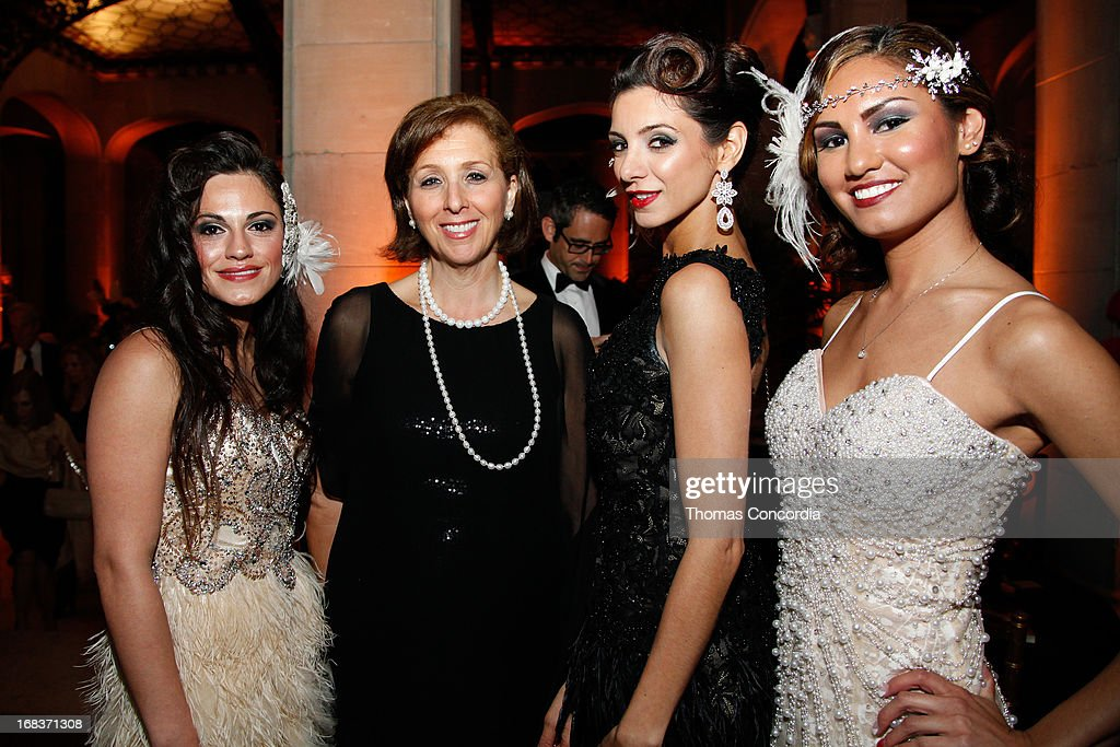 Aviva Miller, Programming and Events for GCIFF and models dressed in period costumes attend the After Party following Baz Luhrmann & Gold Coast Int'l Film Festival screening of 'The Great Gatsby' on May 8, 2013 in Port Washington, New York.